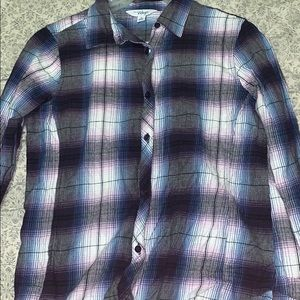 Buttoned Up Plaid Long Sleeve Shirt